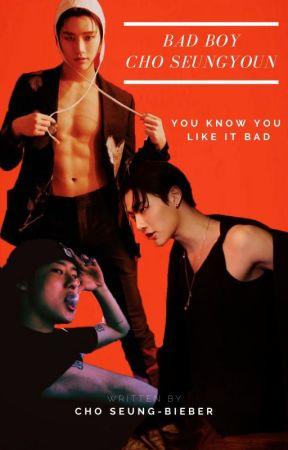 Bad Boy Cho Seungyoun (IMAGINES) by Scorpios_Moodz97