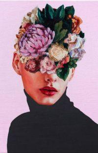 choking on flowers // sad poems cover