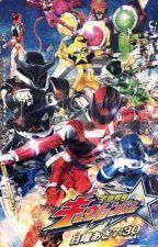 Space Sentai Kyuranger x Male OC by andiegcarpio216