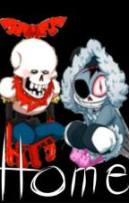 Bitty!Horror Sans/Papyrus x Reader ·Home· by Kakey_