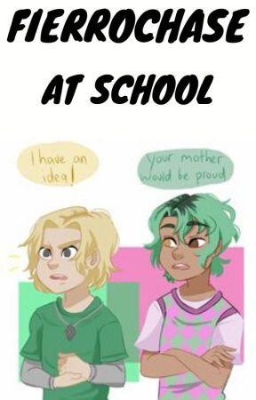 fierrochase at school by hunterofartemis2700