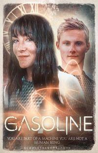 𝗚𝗔𝗦𝗢𝗟𝗜𝗡𝗘¹ ───  clato [catching fire au] cover