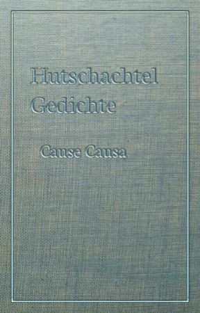 Hutschachtel Gedichte by causecausa