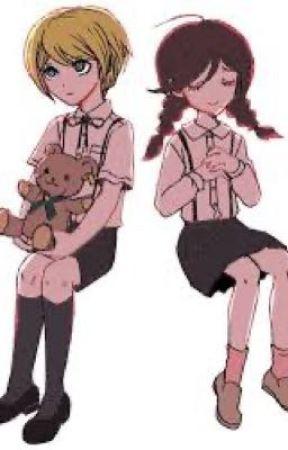 Childhood friend  ( toko x togami) by animenightmaressans