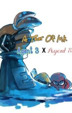 A Tear Of Ink: Agent 3 x Agent 8 by Inky_Stygia