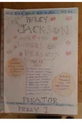 Percy Jackson and the lovers of Perseus by preatorpercy1