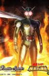 Kamen Rider W X DC universe: The two in one detective in Gotham city  cover