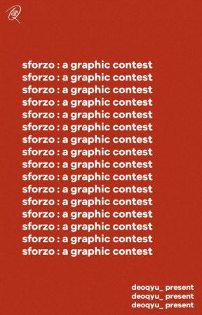 ⟳sforzo : a graphic contest by deoqyu_