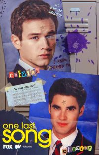one last song ━━ glee ❪ blaine anderson.❫ cover