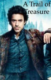 A Trail of Treasure - Sherlock Holmes cover