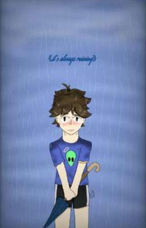 《it's always raining》[depressed oikawa story] by midnight_error