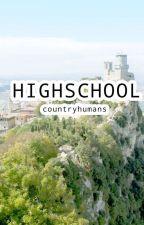 Highschool Au (countryhumans) by Kiw1_Kiw1