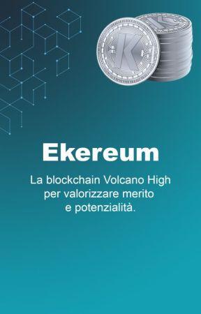 Ekereum. La blockchain per il capitale umano. by volcano-high