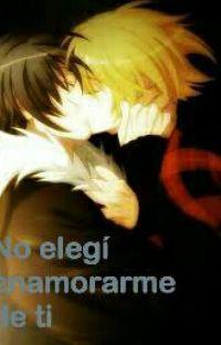No elegi enamorarme de ti ( yaoi/gay ) cover