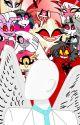 Hazbin Hotel Girls x Male Angel Reader by Miserable-Wretch