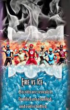 Fire vs Ice || Power Rangers Ninja Storm || by NflNlf