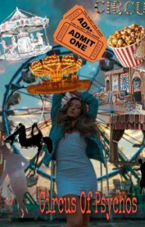 Circus Of Psychos || Dabi × Reader × Hawks by -oakleyvaldez