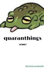 quaranthings • art book 2 by -pinbxll