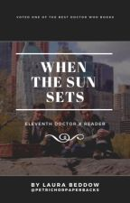 when the sun sets • eleventh doctor x reader by flymetothemcon