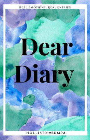 DEAR DIARY... by Hollister19Bumpa