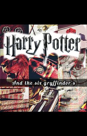 Harry Potter and the six Gryffindor  by wolflmoon03