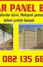Pagar Beton Panel Bogor , WA: 082-135-688-225 by deannadudley55