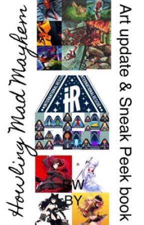 Art, update and sneak peek book by HowlingMadMayhem