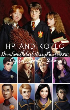 HP and KOTLC reacts and arguements by Amelia_Lily_Luna