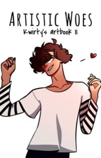 Artistic Woes | Kwirty's Artbook 2 cover