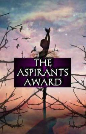 THE ASPIRANTS AWARD by TheAspirantsClub