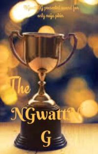 The NGwattNG Award 2020 cover
