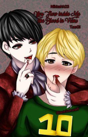 You flow inside me like blood in veins | TaeGi | Vampire by nikkahh23