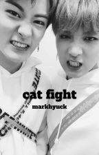 cat fight - nct, markhyuck by laurelynnnn