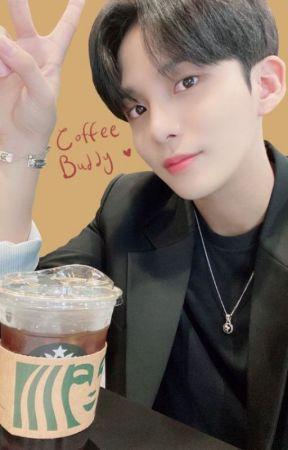 Coffee buddy. ATEEZ Jongho x reader by Starclan1199