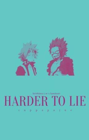 Harder to Lie | e. kirishima x oc x d. kaminari  (au) *UNDER CONSTRUCTION HIATUS by cuppapayne