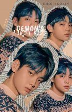 Demon's First Kiss || Choi Soobin by AtengAveve
