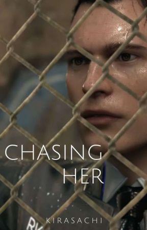 Chasing Her <DBH oneshot> by kirasachi