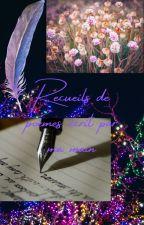 Recueils de poèmes écrit par ma main by MaraLaberio