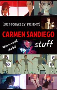 Supposably funny Carmen Sandiego stuff cover