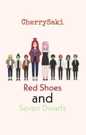 Red Shoes and Seven Dwarfs by CherrySaki