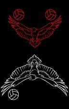 Crimson Eagle by QueenScoria