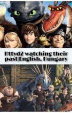 Httyd2 caracters watching Rtte | English  by afonya_felho