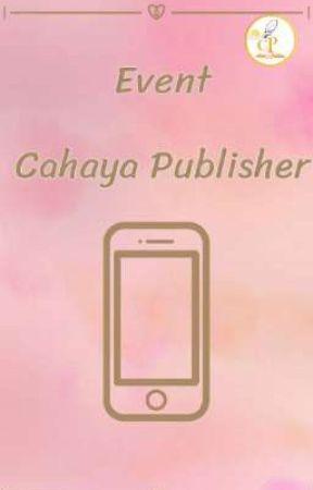 Event Cahaya Publisher by cahaya_publisher