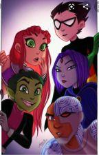 Teen Titans harem x Gaster Sans reader by asdfhhjudh