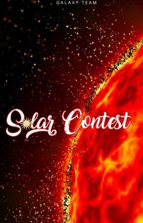 Solar Contest||Edizione 2020{ISCRIZIONI CHIUSE} by Galaxy-Team
