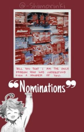 ❝Nominations❞ by -Shimorinki
