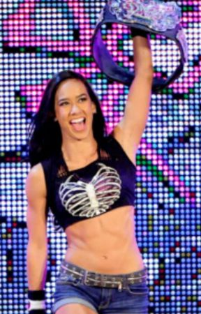 You're the One:AJ Lee and CM Punk by xTheBlackWidowx