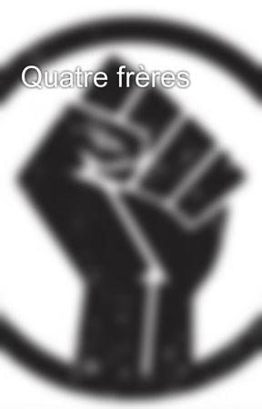 Quatre frères by MeeluDrawz