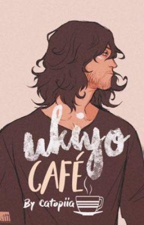 Ukiyo Café  ☕︎  [𝐬𝐡𝐨𝐮𝐭𝐚 𝐚𝐢𝐳𝐚𝐰𝐚 𝐱 𝐨𝐜]  by Catopiia