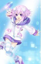 Hyperdimension Neptunia x Male Keyblade reader by DiamondHunt61